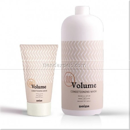 DRIZA MASCARILLA VOLUME 250 ml y 1000 ml