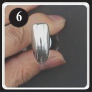 FASES APLICACIÓN CHROME NAIL POWDER