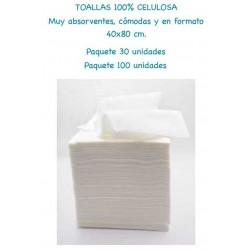 TOALLAS 100% CELULOSA