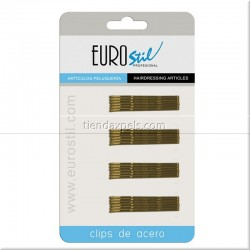 CARTÓN 24 UNIDADES CLIPS - EUROSTIL
