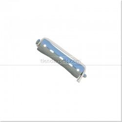 Bigudies de plástico azul / gris 12 unidades - EUROSTIL