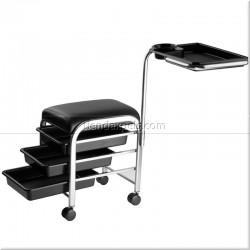 Carrito de manicura y pedicura con ruedas - EUROSTIL