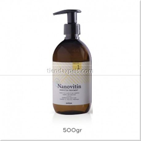 Nanovitin Step 1 Shampoo alisado DRIZA