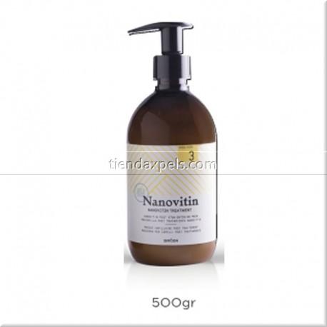 Nanovitin Step 3 Mascarilla alisado DRIZA