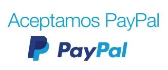 Aceptamos PayPal